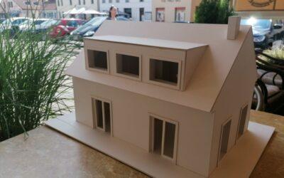 Malý dům, také dům.